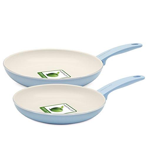 GreenLife Cambridge Induction Pro Ceramic Cookware Set, 12-Piece
