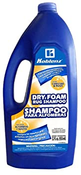 Koblenz 20-0529-6 Dry Foam Rug Shampoo 32-Ounce