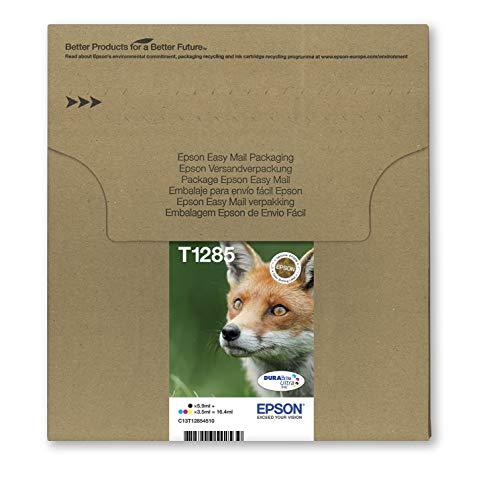 Epson C13T12854511 - Multipack 4-colours T128 EasyMail, Ya disponible en Amazon Dash Replenishment