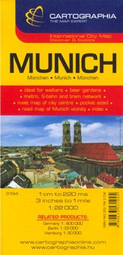 Plano Cartographia Munich (City Map)