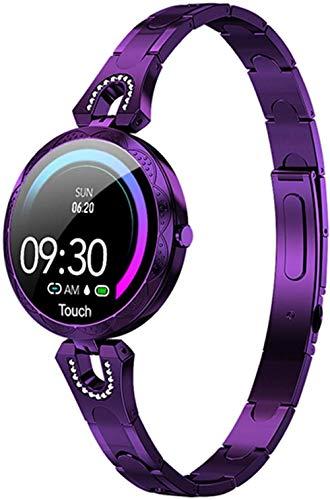 Reloj inteligente para mujer, resistente al agua, dispositivo portátil, reloj deportivo, monitor de sueño, pulsera deportiva, A
