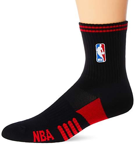 NBA Meia Cano Medio, 39 - 43, Preto