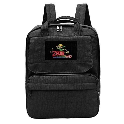 Schoolbag The Legend of Zelda Wind Waker Anime Mochila Mochila para Estudiantes Mochila Escolar para Adolescentes Mochila Informal Universidad Acogedora Cumpleaños para Estudiante