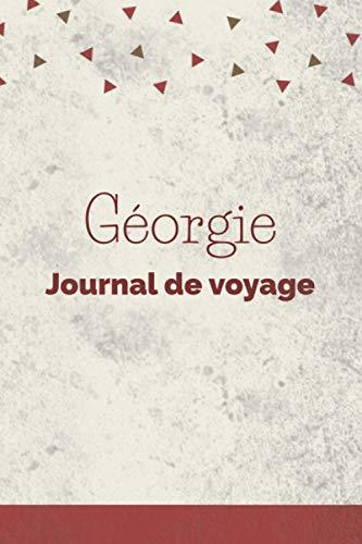 Géorgie Journal de voyage: Grille de points | Le cadeau pour en Géorgie voyage | Listes de contrôle | Journal de vacances, vacances, année à ... d'étudiants, voyage dans le monde à remplir