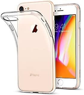 iPhone 7 Kılıf Kapak Lazer Kesim 0.2 mm Ultra İnce Şeffaf Silikon