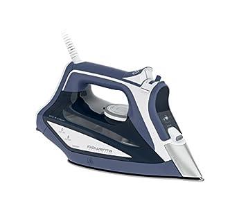 Rowenta DW5210 Focus Excel - Plancha de vapor, 2600 W, Acero Inoxidable, azul