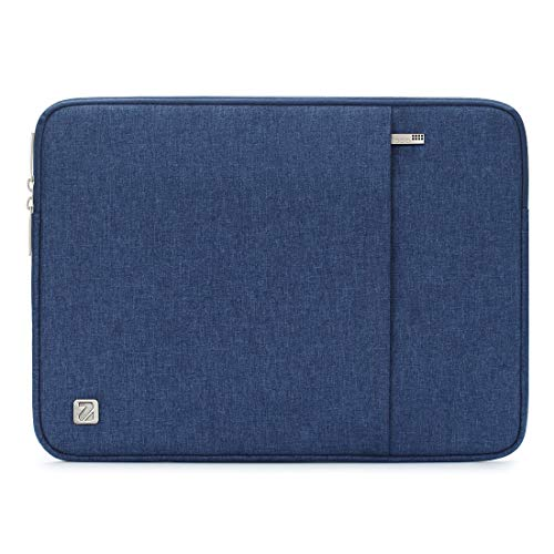 NIDOO 17 Inch Water-Resistant Laptop Sleeve Case Protective Bag Portable Carring Pouch For 17.3' Lenovo IdeaPad 300/17.3' HP ProBook 470/17.3' Dell Inspiron 17/17.3' Lenovo Legion Y730, Blue