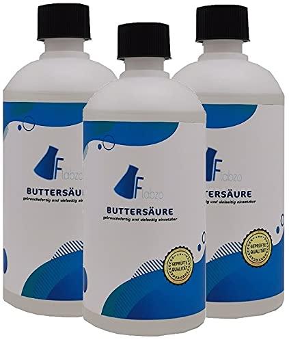 Flabzo 3x500ml Buttersäure *Gebrauchsfertig* Seit 2009 Made by Karbid 24 (Reg.465608931) (1500ml)