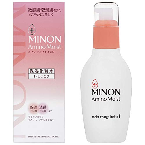 Minon Amino Moist Moist Charge Lotion 1- Moist Type - 150ml (Green Tea Set)