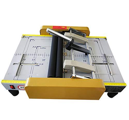 NEWTRY Grapadora de papel A3 Eléctrica para libro, A4, máquina de encuadernación...