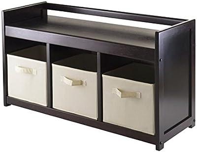 Amazon.com: Haotian FSR36-W, banco de almacenamiento de ...