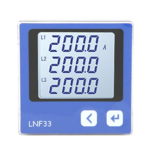 Digitales LCD Display Drehstrom Amperemeter mit Kommunikations funktion LNF33 / LNF33-C (LNF33)