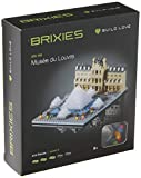 Brixies- Museo LOUVRE, Multicolor (Schäfer Toy Company GmbH BX200.166)