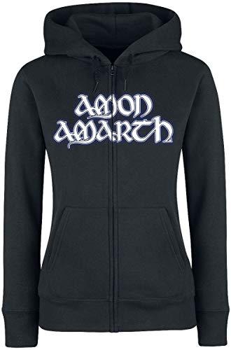 Amon Amarth Raven's Flight Frauen Kapuzenjacke schwarz L