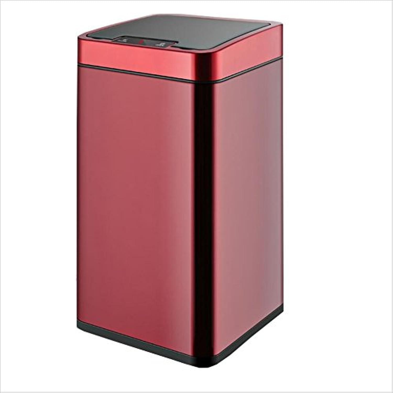 WSWJJXB Induktion Mülleimer nach Hause Wohnzimmer Schlafzimmer Badezimmer elektrische große intelligente Mülleimer MultiFarbe 10L 23,5 X 23,5 X 32,5 cm 12L 23,5 X 23,5 X 42,5 cm B07MT4GZM5 | Bestellung willkommen