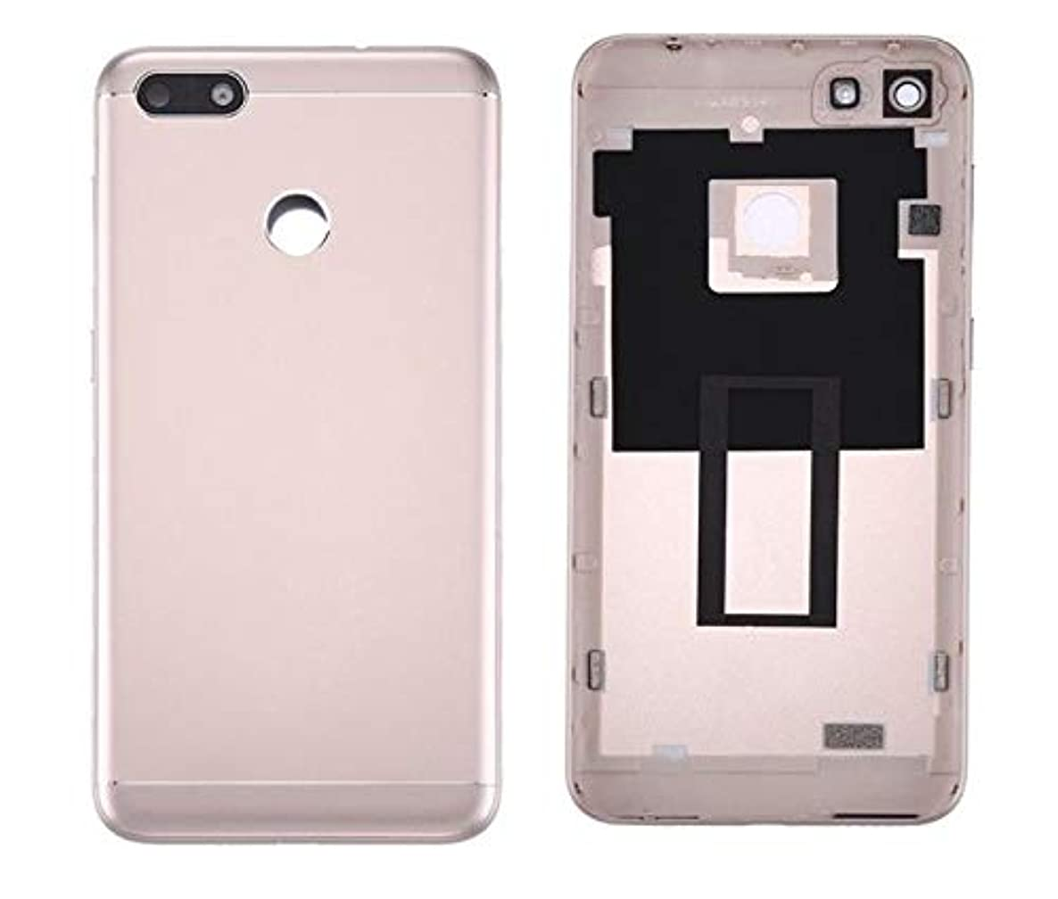 Draxlgon Rear Battery Door Housing Back Cover Replacement with Camera Lens for Huawei Y6 PRO 2017 / P9 lite Mini 5.0