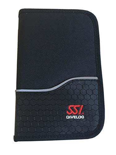 SSI - DiveLog Deluxe Binder Schwarz
