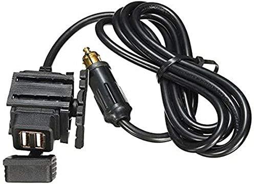 Wooya 12-24V Moto GPS Teléfono Móvil Dual USB Fuente De Alimentación Puerto Enchufe Cargador