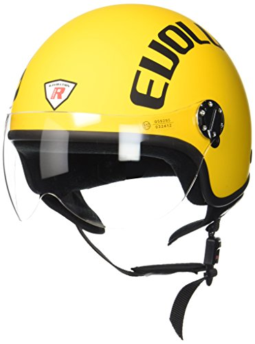 Bottari Motorradhelm Evolution, Rubber Yellow, Größe XL