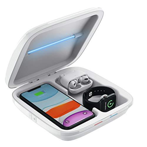 UV-Handy-Desinfektionsmittel, multifunktional, tragbar, mit Smart-UV-Licht, für Handy, Brille, Schlüssel, Zahnbürste, Schnuller, Uhren, Schmuck etc.