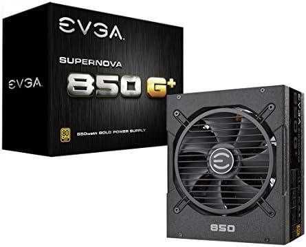 EVGA SuperNOVA 120-GP-0850-X1, 850 G+, 80 Plus Gold 850W, Fully Modular, FDB Fan, 10 Year Warranty, Includes Power ON Self Tester, Power Supply