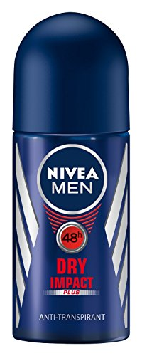 Nivea Men Dry Impact Plus Deo Roll-on, Antitranspirant, 3er Pack (3  x 50 ml)
