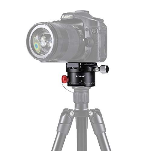 Laifeng Aluminium Panoramic indexeren Rotator Ball Head met Snelkoppeling Plaat for Camera Tripod Head