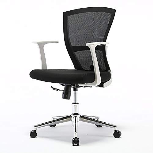 Qi Peng Fauteuil pivotant - Fauteuil Ergonomique Ordinateur Chaise de Bureau Chaise de conférence Dortoir étudiant Siège Bow Chaise pivotante (Couleur : B)