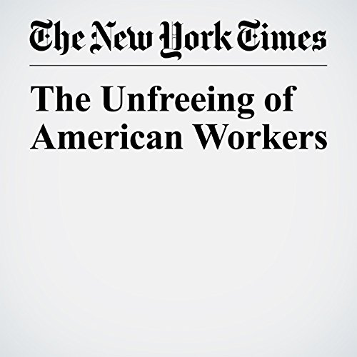 The Unfreeing of American Workers copertina