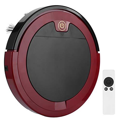 wosume Aspiradora, máquina de Barrido 12 X 12 X 1.6in Robot Limpiador de detección Inteligente, para Piso de Madera Alfombra de Lana Corta