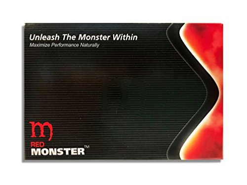 Red Monster (30 Caps) All Natural Energy & Strength Supplement