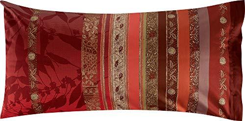 Bassetti Kissenhülle Malve R1 Rot 40 x 80 cm, bunt, 40x80