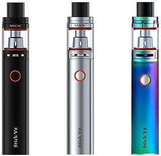 Smok Stick V8 Kit Con TFV8 Baby Tank Pen Estilo – PLATA, 5ml - 3000mAh - Sin Tabaco y Sin Nicotina