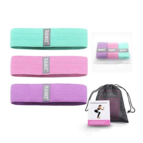 Huiyue 3PCS / Mehrere Sätze von Fitness Gummibänder Widerstand-Bänder for Fitness Aufblasbare Gummibänder for Fitness-Bänder for Trainings-Gummibänder Fitnessgeräte (Color : AOLIKES 3PCS Set)