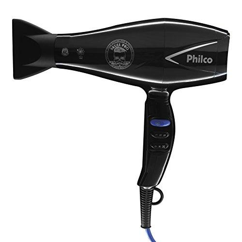 Secador de cabelo, Skull pro Psc02p, 2000w, Preto, 110V, Philco