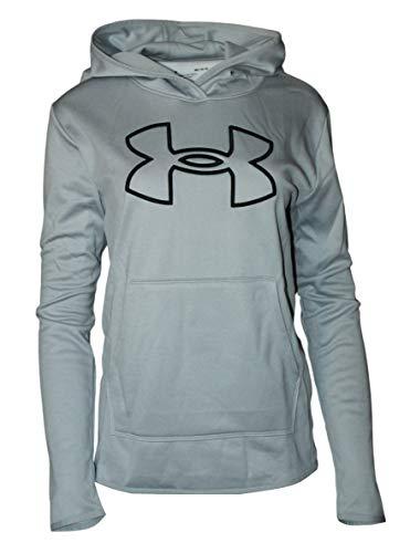 Under Armour Damen Fashion Big Logo Hoodie 1358227 (Grau, M)