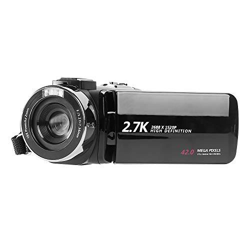 Videocámara de vídeo Full HD para YouTube 2,7 K 42 MP Vlogging Camera