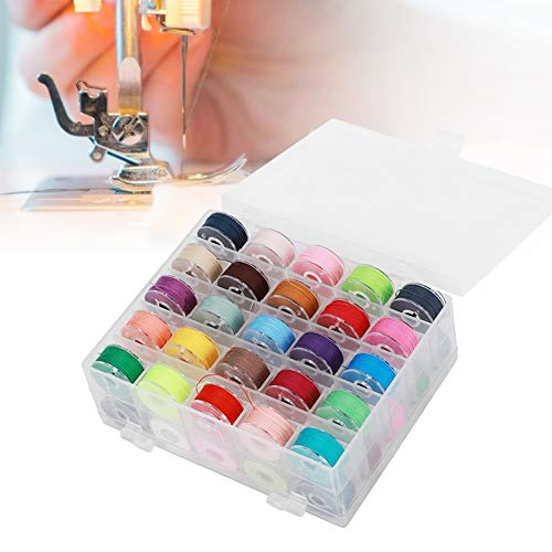 50st naaigarnituur, kleurrijke naaigaren, draagbare kleurrijke naaigaren, draagbare kleurrijke handwerk naaigarnituur voor thuisgebruik met opbergdoos