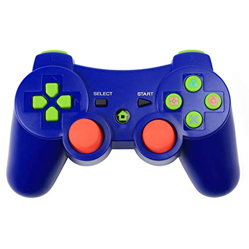 Morza Controlador inalámbrico Bluetooth Wireless Juego Joystick Gamepad para PS3 Videojuegos Handle Joystick