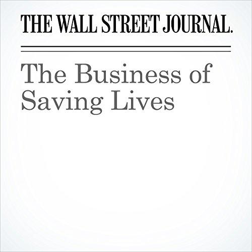 The Business of Saving Lives copertina