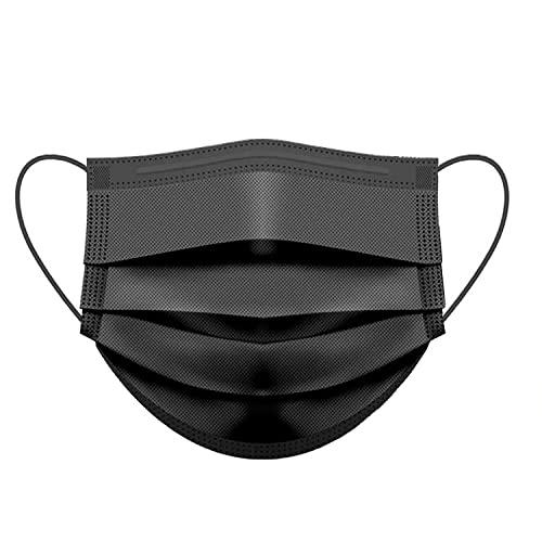50 Stück OP Masken Schwarz Mundschutz Medizinischer 100% Made in Italy CE Zertifiziert TYP II Einwegmasken EN 14683 BFE ≥ 99% Mund Nasen Schutz