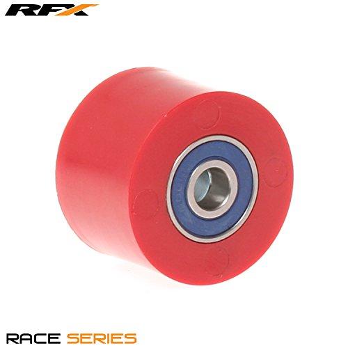 RFX fxcr 10038 55rd kettingkoord rolgordijn universeel boven- en onderkant, rood, 38 mm