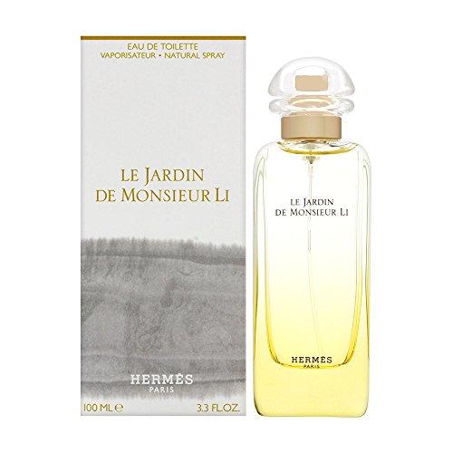 HERMES Le Jardin De Monsieur Li for Unisex Eau de Toilette, 3.4 Ounce, Multi-color