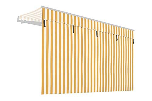 empasa Markisen Volant Markisenstoff Markisen-Zubehör Sonnenschutz Sichtschutz für unsere Gelenkarmmarkisen 'Start' und 'Start Plus', Verschiedene Farben & Breiten