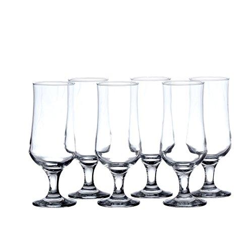 Pasabahce Hurricane Cocktail Glasses, 13 Ounce, (6 Pieces, 12 Pieces Set) (6)