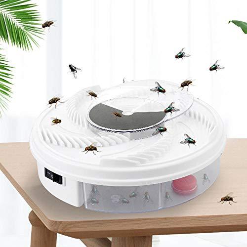 Atrapamoscas eléctrico Dispositivo de trampa de moscas automático con atrapamiento de alimentos...