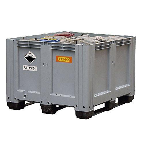 PE-Altbatterie-Box CEMO 610 L