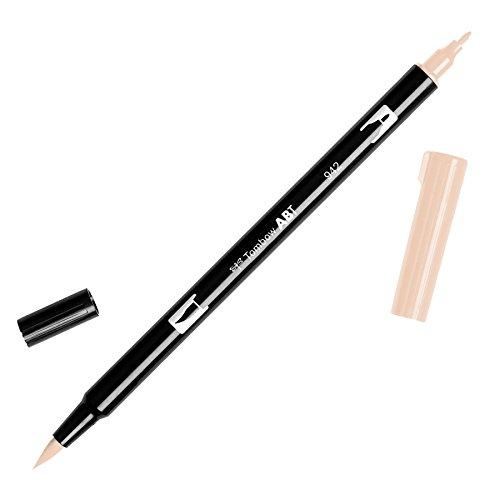 Tombow Dual Brush Pen- Pennarello con Due Puntemarrone, , 1 Pezzi