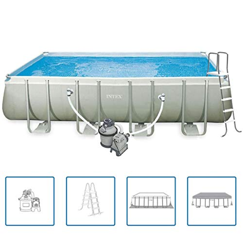 vidaXL Intex Ultra Frame rectangular Pool Set 549 x 274