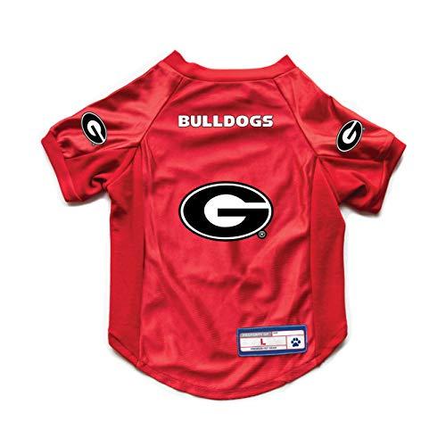 Littlearth NCAA Georgia Bulldogs Pet Stretch Jersey, X-Large